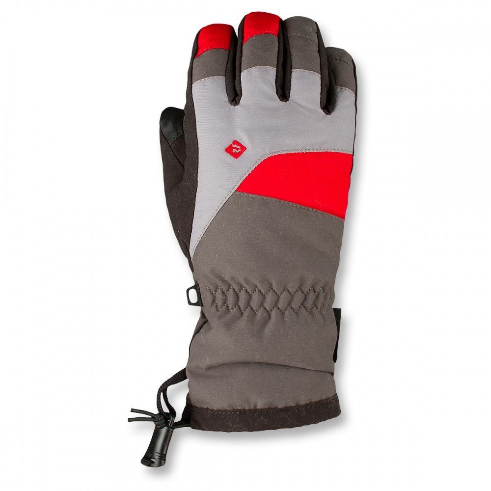 Перчатки CRS ПодростковыеПерчатки<br>Подростковые утепленные перчатки  для зимних видовспорта.<br><br><br>Материал –Nylon, 238 g/sqm, DWR.<br><br>Усиление –50% Polyester, 50% Nylon.<br><br>Утеплитель –Оmnitherm® Classic 90 g/sqm.<br>Подкладка –Po...<br><br>Цвет: Черный<br>Размер: L