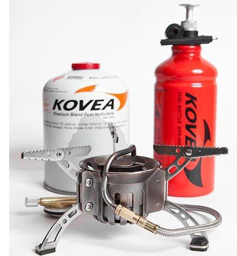 Горелка мультитоплив. KB-0603-1Мультитопливные горелки<br><br> Мультитопливная горелка Kovea KB-0603 Booster +1 предназначена для работы и на газе, и на бензине. При использовании бензина может эксплуатироваться при температурах – 40 °C и ниже.<br><br><br> Система предварительного подогрева топлива обеспечив...<br><br>Цвет: Серый<br>Размер: None