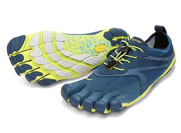 Мокасины Vibram  FIVEFINGERS BIKILA EVO MVibram FiveFingers<br><br>Средние дистанции в минималистичной обуви могут стать настоящим испытанием для новичков. Должно пройти время, прежде чем вы привыкните...<br><br>Цвет: Темно-синий<br>Размер: 45
