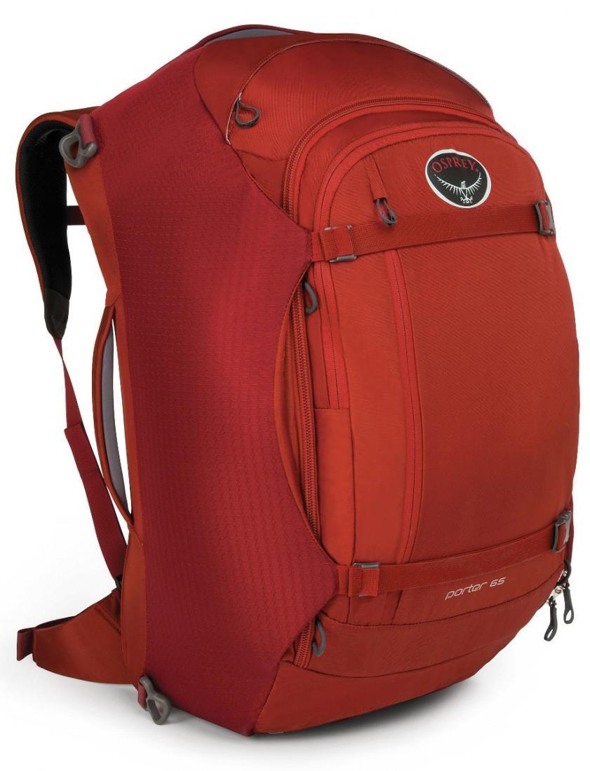 Сумка-рюкзак Porter 65Рюкзаки<br><br><br>Цвет: Бордовый<br>Размер: 65 л