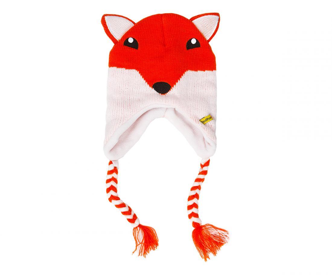 Шапка утепленная Animals ДетскаяШапки<br><br><br>Цвет: Оранжевый<br>Размер: 48-50