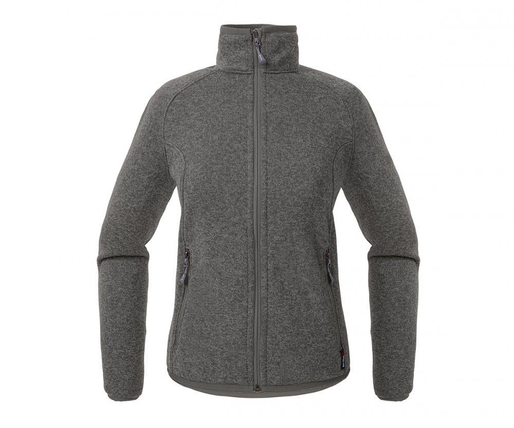 Куртка Tweed III ЖенскаяКуртки<br><br> Теплая и стильная куртка для холодного временигода, выполненная из флисового материала с эффектом«sweater look». Отлично отводит влагу, сохраняет тепло,легкая и не громоздкая.<br><br><br> Основные характеристики<br><br><br>воротн...<br><br>Цвет: Темно-серый<br>Размер: 46