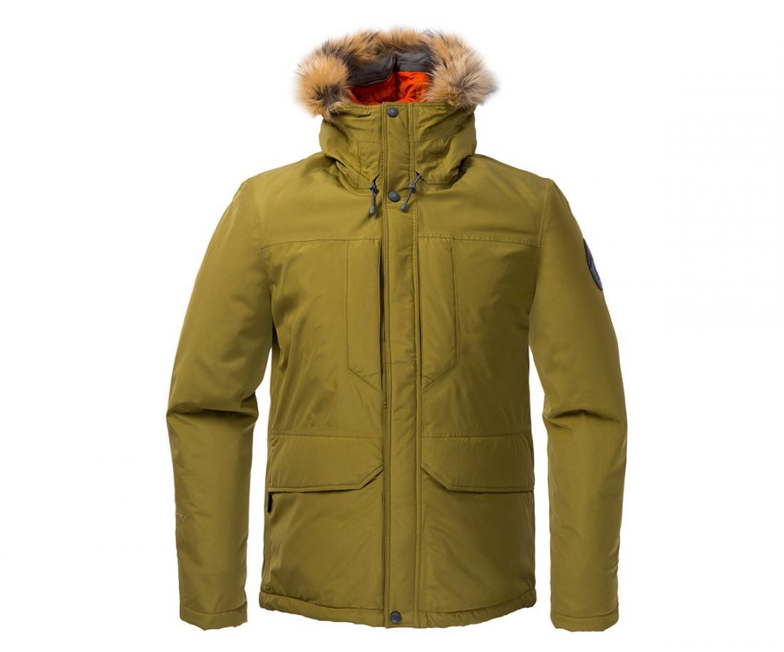 Куртка утепленная Yukon GTX МужскаяКуртки<br><br> Городская парка высокотехнологичного дизайна. Сочетание утеплителя Thinsulate® c непродуваемым материалом GORE-TEX® гарантирует исключительн...<br><br>Цвет: Хаки<br>Размер: 56