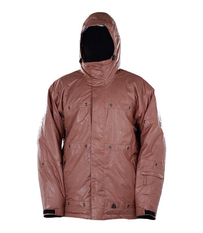 Куртка утепленная HardКуртки<br><br><br>Цвет: Коричневый<br>Размер: 46