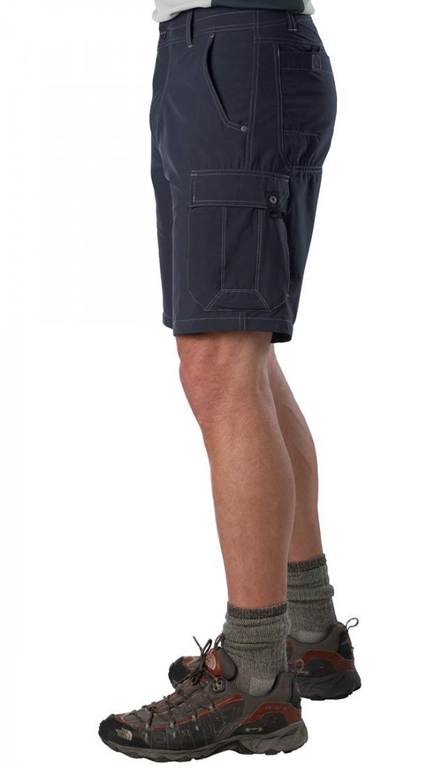 Шорты Raptr Cargo муж.Шорты, бриджи<br><br> Практичные мужские шорты Raptr Cargo Short от компании Kuhl нравятся всем, кто любит активный отдых и прежде всего ценит в одежде свободу и комфорт. Модель сшита из синтетической эластичной ткани, благодаря чему хорошо держит форму и не сковывает д...<br><br>Цвет: Синий<br>Размер: 34