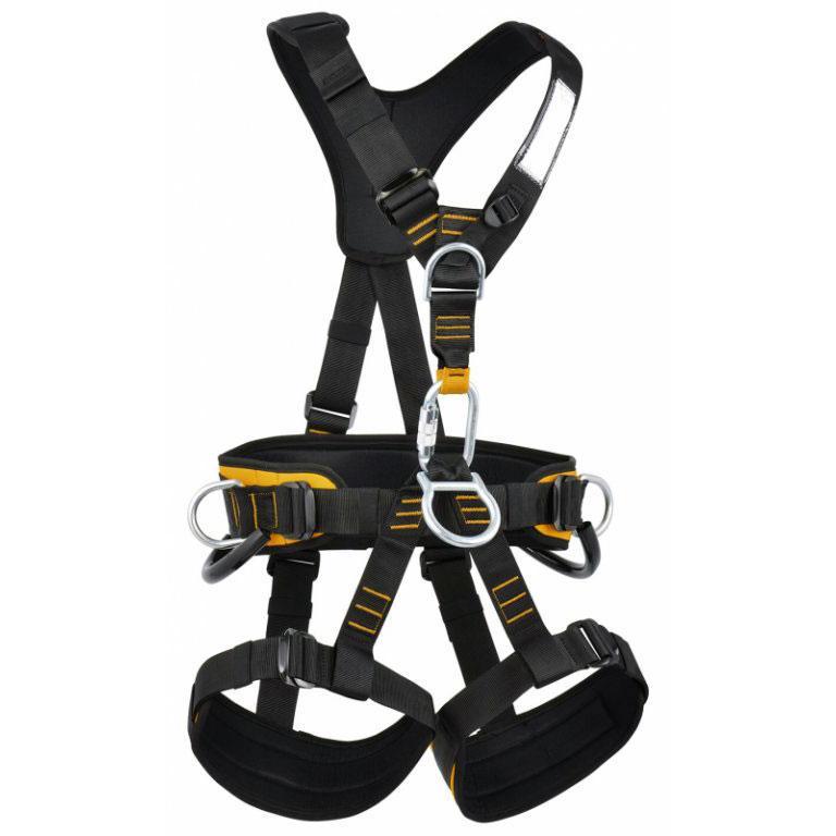 Обвязки промальп Skill LockОбвязки, беседки<br>Полная обвязка для удержания при срыве. Подходит для промышленного альпинизма, подъемов, спусков и спасательных работ. Регулируемые пояс, ремни для ног и плечевые ремни с объемной набивкой. Разработанная в том же дизайне, что и обвязка ROCK EMPIRE Skil...<br><br>Цвет: Оранжевый<br>Размер: XS-M