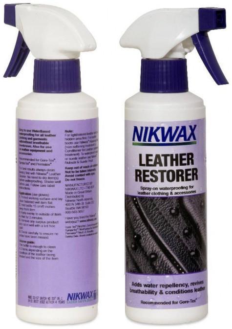 Пропитка для изделий из кожи Leather RestorerПропитки, стирки<br>Легкое в использовании средство на водной основе для придания водоотталкивающих свойств всем кожаным изделиям без дышащих мембран. Подходит для снаряжения и аксессуаров из кожи. Рекомендуется для изделий из Gore-Tex®, SympaTex® и Permatex®. Для достиже...<br><br>Цвет: Бесцветный<br>Размер: 300 мл