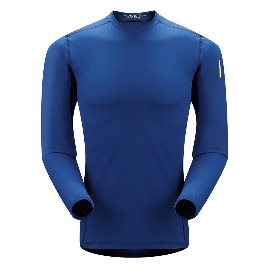 Термобелье футболка Phase AR Crew LS муж.Футболки<br>Футболка мужская. Обеспечивая легкое утепление футболка, созданная для эффективного отвода влаги с поверхности кожи и быстрого высыхания ...<br><br>Цвет: Голубой<br>Размер: XL