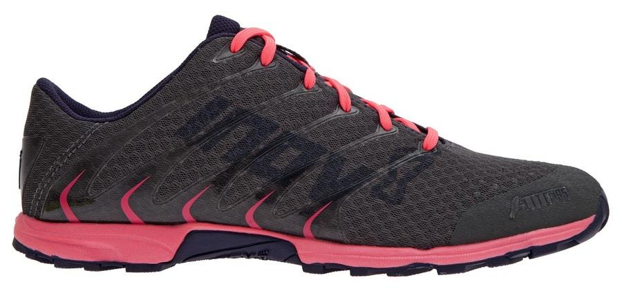 Inov-8 Кроссовки F-lite 195 жен. (3.5, Grey/Pink/Navy, ,) inov 8 футболка at c tri blend ss strip w 6 black pink