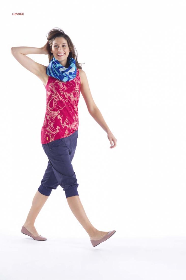 Капри LSW1017 HAVEN CAPRIШорты, бриджи<br><br> Затейливые капри подойдут как для создания легкого женственного образа, так и для покорения фитнес вершин. Изящные оборки на фронатльн...<br><br>Цвет: Синий<br>Размер: S