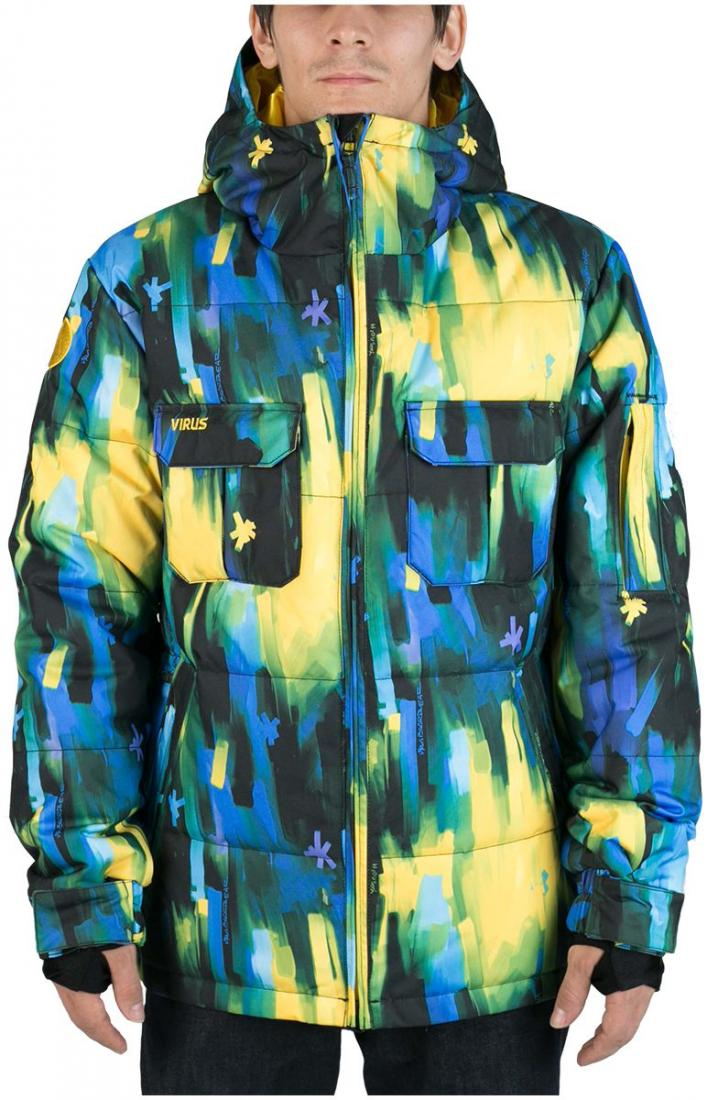 Куртка пуховая FroSTКуртки<br><br><br>Цвет: Синий<br>Размер: 48