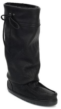 Manitobah Унты Tall Gatherer Mukluk мужские Черный manitobah унты tall wrap mukluk женские серый