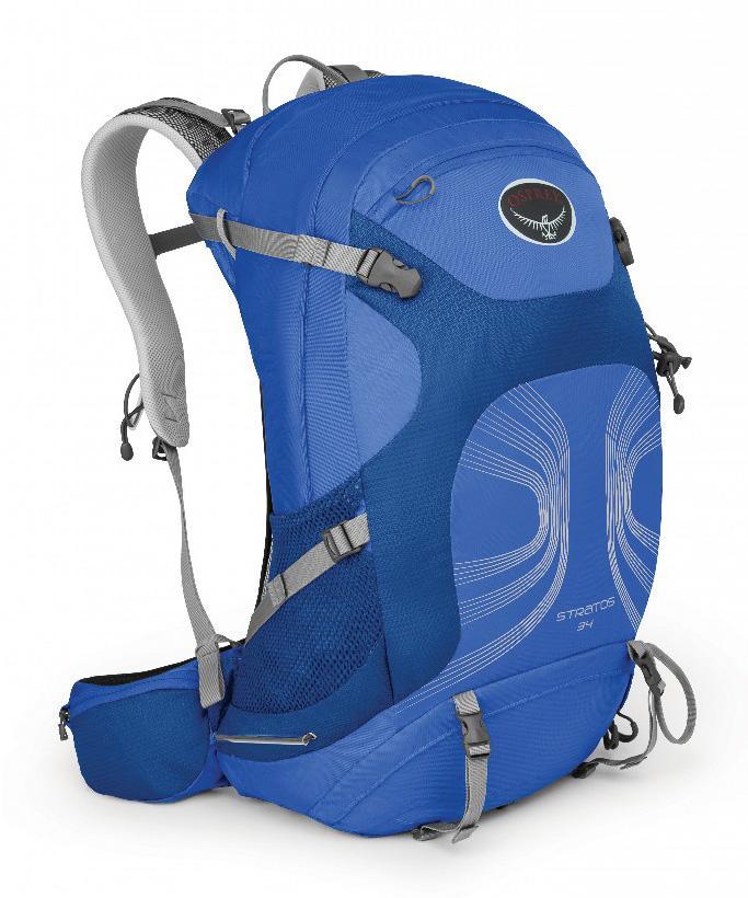 Рюкзак Stratos 34Рюкзаки<br><br><br>Цвет: Голубой<br>Размер: 32 л
