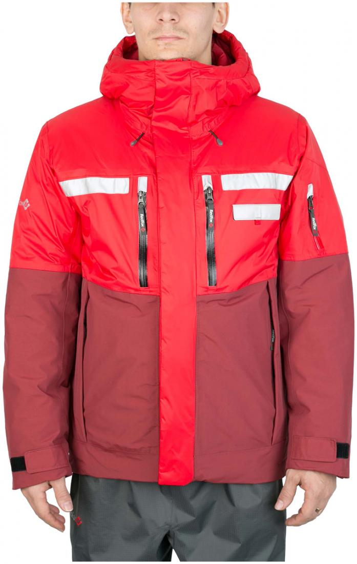 Куртка утепленная HuskyКуртки<br><br><br>Цвет: Красный<br>Размер: 60