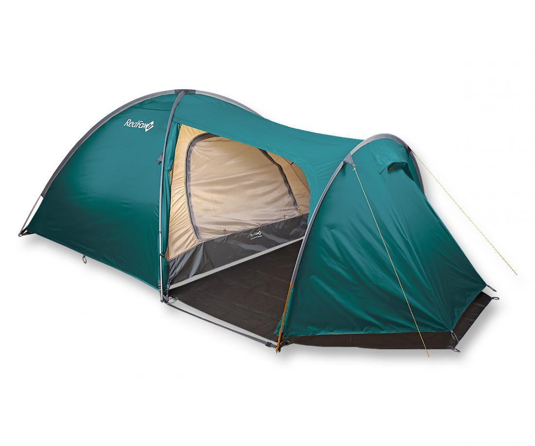 Палатка Challenger 4 ComboПалатки<br><br> Большая комфортная палатка для кемпинга. Палатка обладает простым в установке и исключительно прочным каркасом. Основная особенность модели: внутренняя палатка и тент устанавливаются одновременно. В модели продуманы два входа и два тамбура, один из...<br><br>Цвет: Зеленый<br>Размер: None