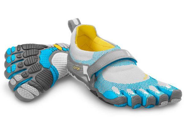 Мокасины FIVEFINGERS BIKILA WVibram FiveFingers<br>В отличие от любой другой обуви для бега, представленной на рынке, Bikila   первая модель, спроектированная специально для естественного, здо...<br><br>Цвет: Голубой<br>Размер: 40