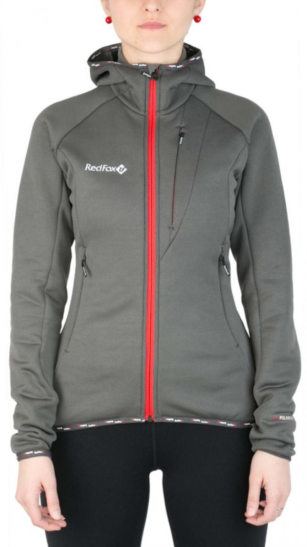 Куртка East Wind II ЖенскаяКуртки<br><br> Теплая женская куртка из материала Polartec® Wind Pro® с технологией Hardface® для занятий мультиспортом в прохладную и ветреную погоду. Благодаря своим высоким теплоизолирующим показателям и высокой паропроницаемости, куртка может быть использован...<br><br>Цвет: Темно-серый<br>Размер: 42