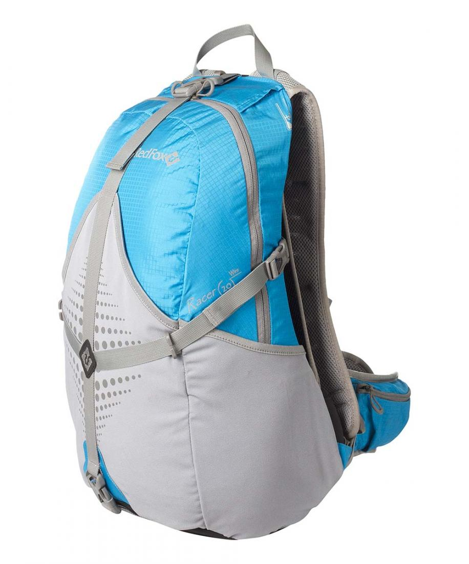 Рюкзак Racer 20 WireСпортивные<br>Racer 20 Wire – легкий функциональный рюкзак для занятий велоспортом, бегом, треккингом в стиле fast-and-lite.<br><br>назначение: треккинг, велоспорт<br>подвесная вентилируемая система Air vent<br>мягкий анатомический поясной реме...<br><br>Цвет: Синий<br>Размер: 20 л