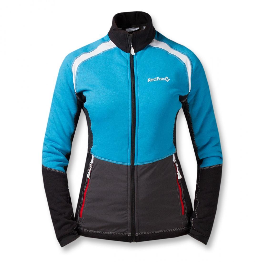 Куртка St.Line ЖенскаяКуртки<br><br> Легкая спортивная куртка на молнии из материалаPolartec® Power Stretch® Pro.Можно использовать в качестве промежуточного или<br> верхнего утепляющего слоя.<br><br><br> Основные характеристики:<br><br><br>анатомическая приталенная ...<br><br>Цвет: Голубой<br>Размер: 48