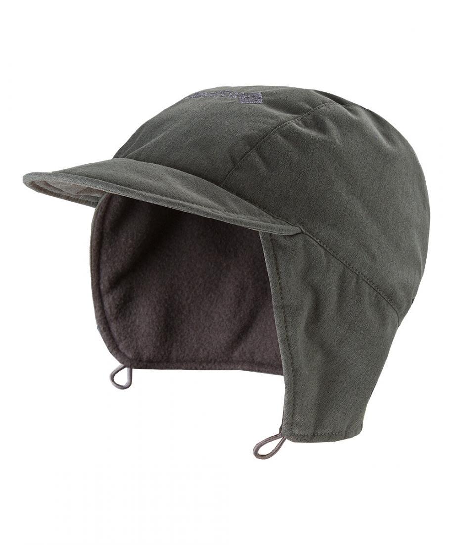 Шапка SailorШапки<br>Утепленная шапка «с ушами» и защитой шеи от холода.<br><br>комфортная посадка <br>эргономичная конструкция кроя<br>флисовая подкладк...<br><br>Цвет: Серый<br>Размер: None