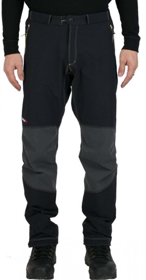 Брюки Granite Climbing МужскиеБрюки, штаны<br><br> Технологичные и функциональные брюки: комбинация высокой прочности и эластичности с эргономичным силуэтом позволяет ощутить исключительную свободу движения. Отделка в стиле denim (декоративные строчки и контрастный логотип на поясе) придает модели ...<br><br>Цвет: Черный<br>Размер: 56