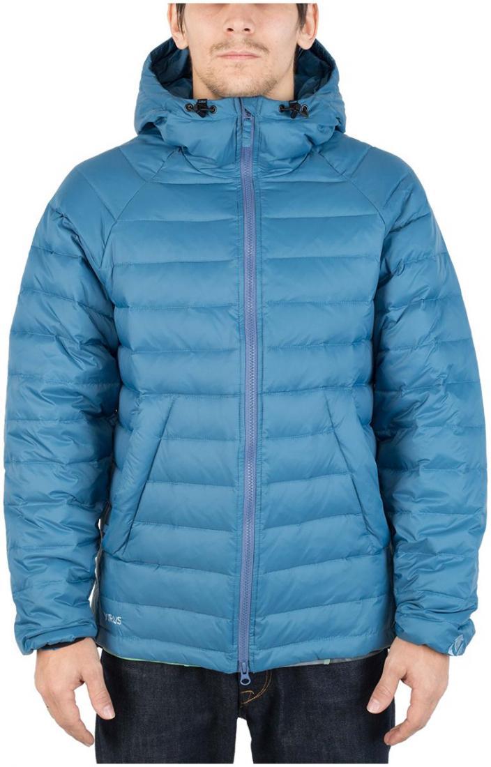 Куртка пуховая PUSHERКуртки<br><br>Пуховая кенгуру? Почему бы и нет! Легкая. Выполнена из тонкой ткани с водоотталкивающей обработкой DWR. Куртка отлично сидит по фигуре.<br>...<br><br>Цвет: Синий<br>Размер: 54