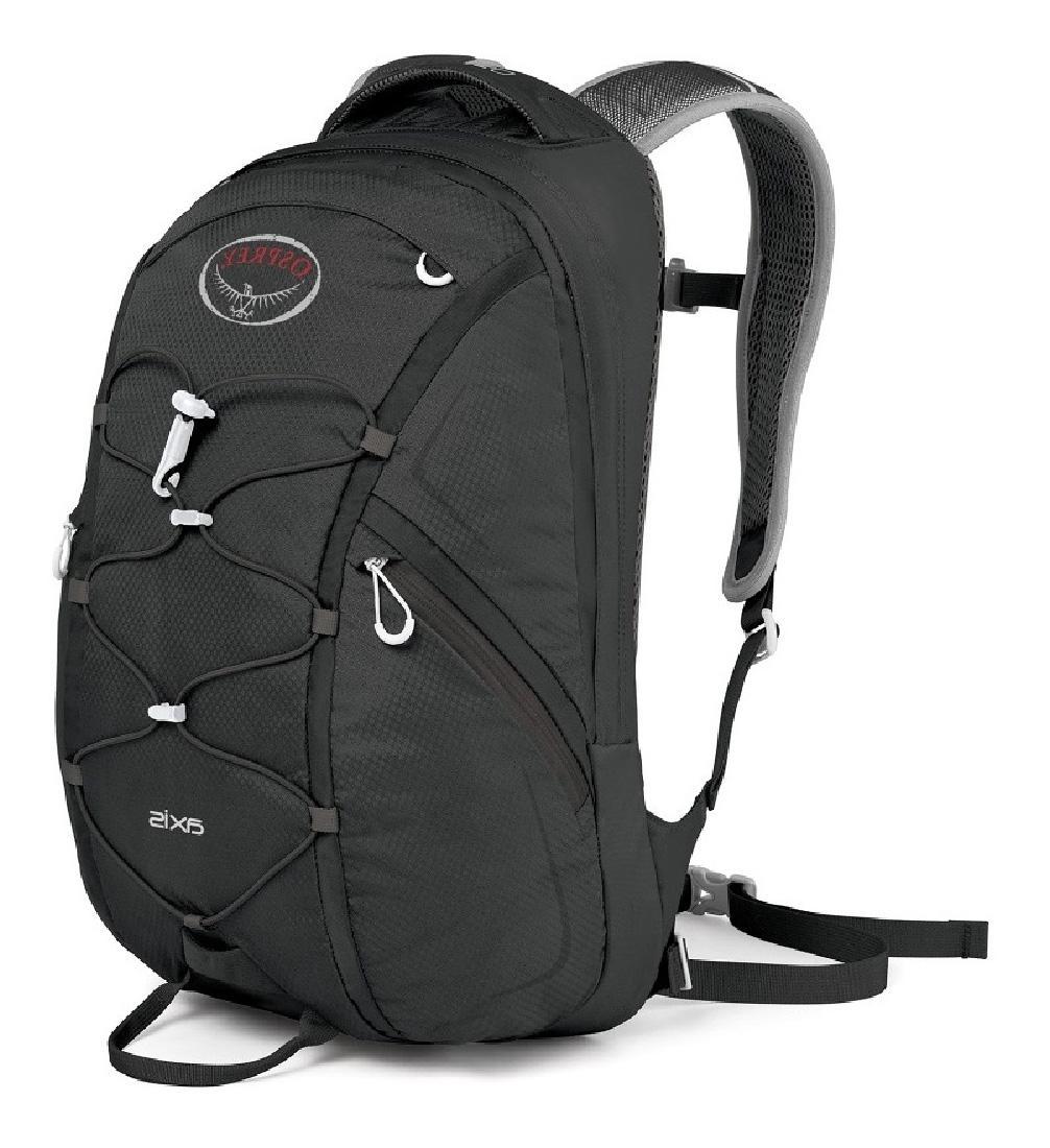 Рюкзак Axis 18Рюкзаки<br>Особенности: <br> Вшитые лямки EVA с подкладкой из сеткой <br> Спина с подкладкой из сеткой <br> Боковые карманы на молнии <br> Стяжка на фасаде &lt;...<br><br>Цвет: Черный<br>Размер: 18 л