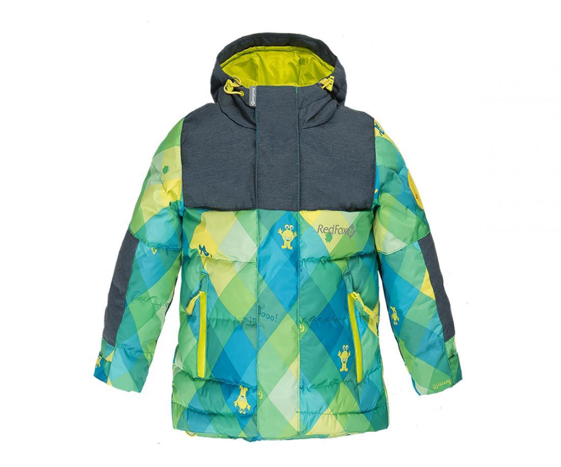 RedFox Куртка пуховая Climb Детская (104, MB99/принт/черно-синий, ,)  недорого