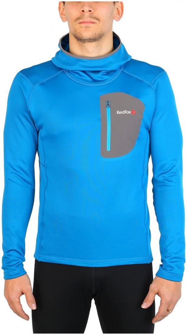 Пуловер Z-Dry Hoody МужскойПуловеры<br><br> Спортивный пуловер, выполненный из эластичного материала с высокими влагоотводящими характеристиками. Идеален в качестве зимнего термобелья или среднего утепляющего слоя.<br><br><br>основное назначение: альпинизм, горные походы<br>бе...<br><br>Цвет: Синий<br>Размер: 56