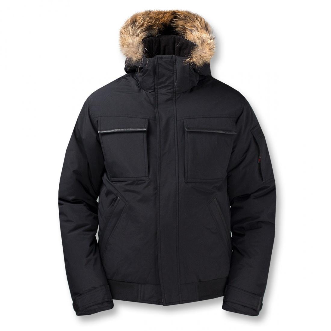 Куртка пуховая Logan IIКуртки<br>Укороченная мужская куртка с гусиным пухом. Непромокаемая верхняя мембранная ткань куртки для защиты пуха от влаги и укрепления теплозащи...<br><br>Цвет: Черный<br>Размер: 60
