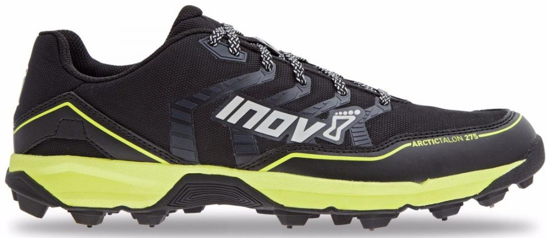 Inov-8 Кроссовки Arctic Talon 275 муж. (6.5, Black/Yellow/Grey, , ,) inov 8 питьевая система 1l reservoir 1 л clear black