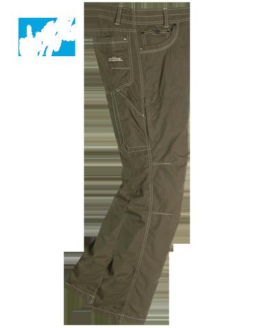 Брюки Kontra AirБрюки, штаны<br>Легкие мужские брюки анатомического кроя с вставками из сетки для лучшей вентиляции.<br><br> <br><br><br>Состав: 65% хлопок, 35% нейлон<br><br><br>Назначение: город, путешествия<br><br><br><br>Цвет: Коричневый<br>Размер: 32-30