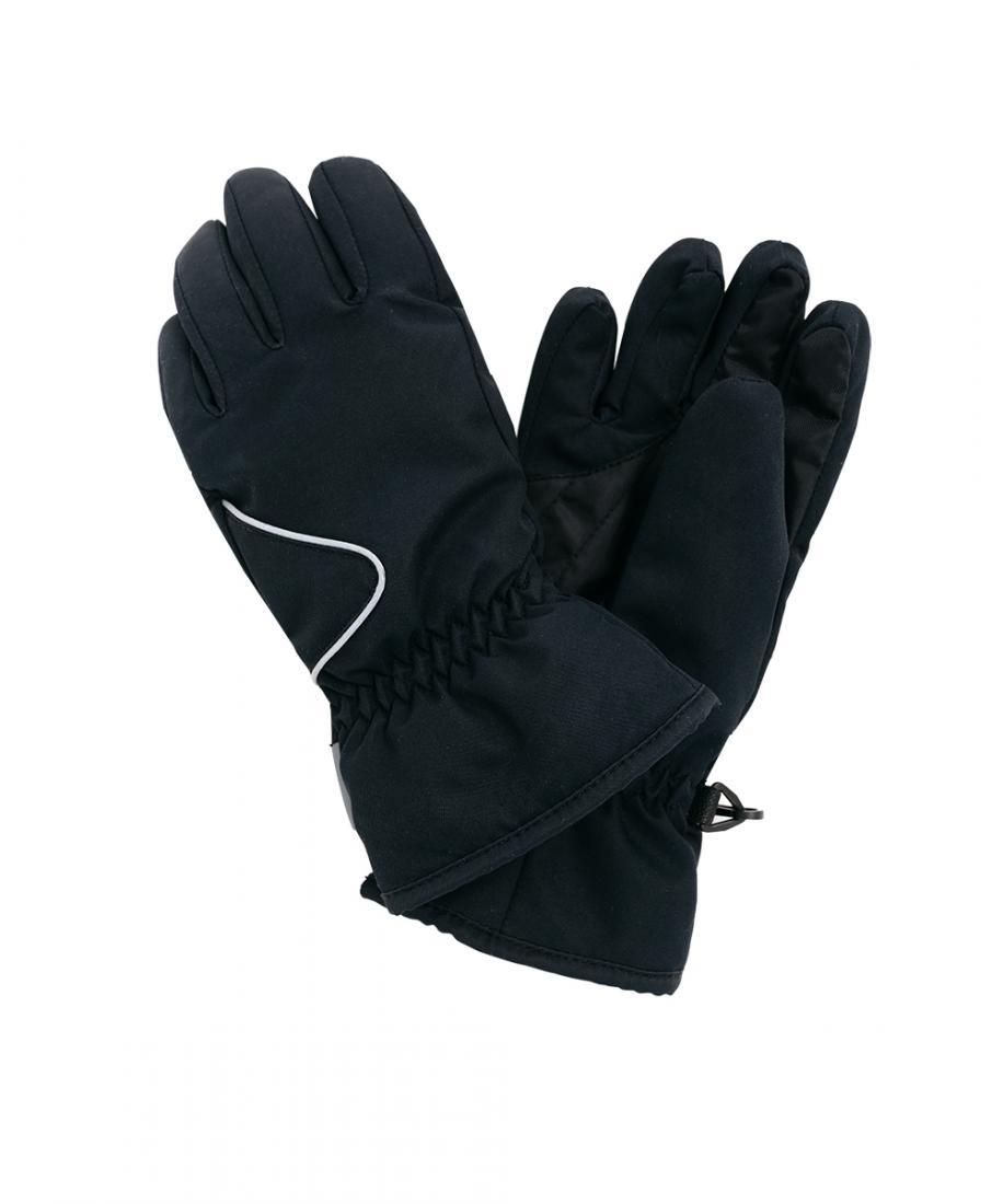 Перчатки утепленные Game ДетскиеПерчатки<br>Функциональные, практичные и очень теплыеперчатки. Специальная водоотталкивающая тканьзащитит от снега и дождя. Манжеты в областизапястья на резинке хорошо фиксируются на руке.Имеют усиление материала на ладошке для защиты отистирания, cветоотража...<br><br>Цвет: Черный<br>Размер: L