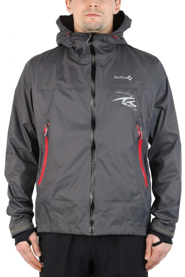 Куртка ветрозащитная Trek IIКуртки<br><br><br> Легкая влаго-ветрозащитная куртка для использованияв ветреную или...<br><br>Цвет: Серый<br>Размер: 42