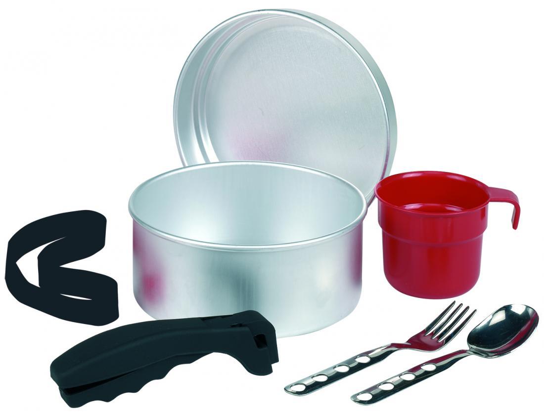 1011FN Набор посуды алюминий 17 см с неопреновым чехломПосуда<br><br> Набор посуды из алюминия Laken 1011FN включает в себя все самое необходимое, что может пригодиться для приготовления пищи во время похода. Посуда компактно упакована в черный чехол, изготовленный из неопрена.<br><br><br><br><br><br><br>...<br><br>Цвет: Серый<br>Размер: None