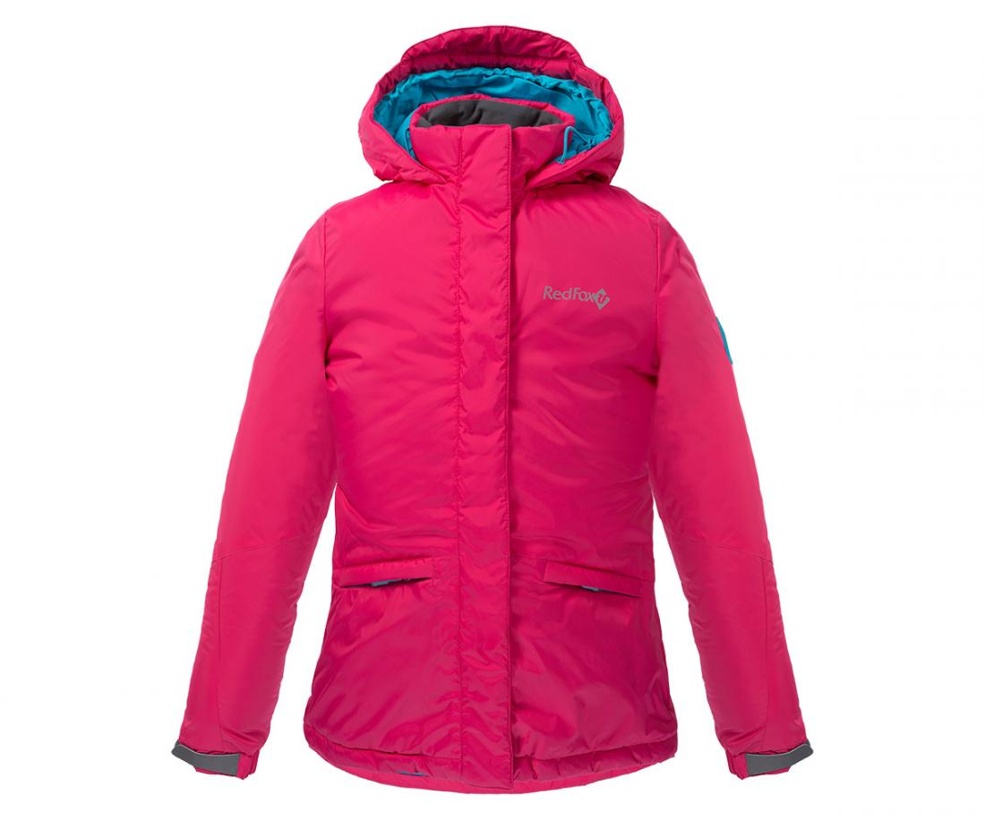Куртка утепленная Snowy Fox ДетскаяКуртки<br><br> Практичная и стильная куртка для девочек с приталенным силуэтом, которая не позволит замерзнуть и промокнуть в холодную погоду.<br><br> ...<br><br>Цвет: Розовый<br>Размер: 140