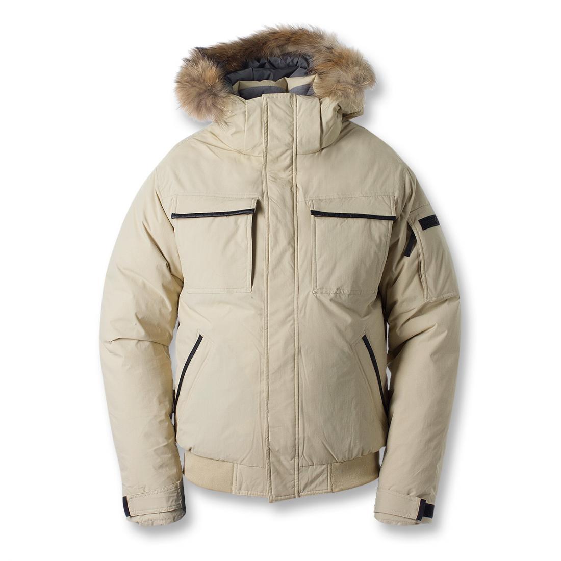 Куртка пуховая Logan IIКуртки<br>Укороченная мужская куртка с гусиным пухом. Непромокаемая верхняя мембранная ткань куртки для защиты пуха от влаги и укрепления теплозащи...<br><br>Цвет: Бежевый<br>Размер: 60