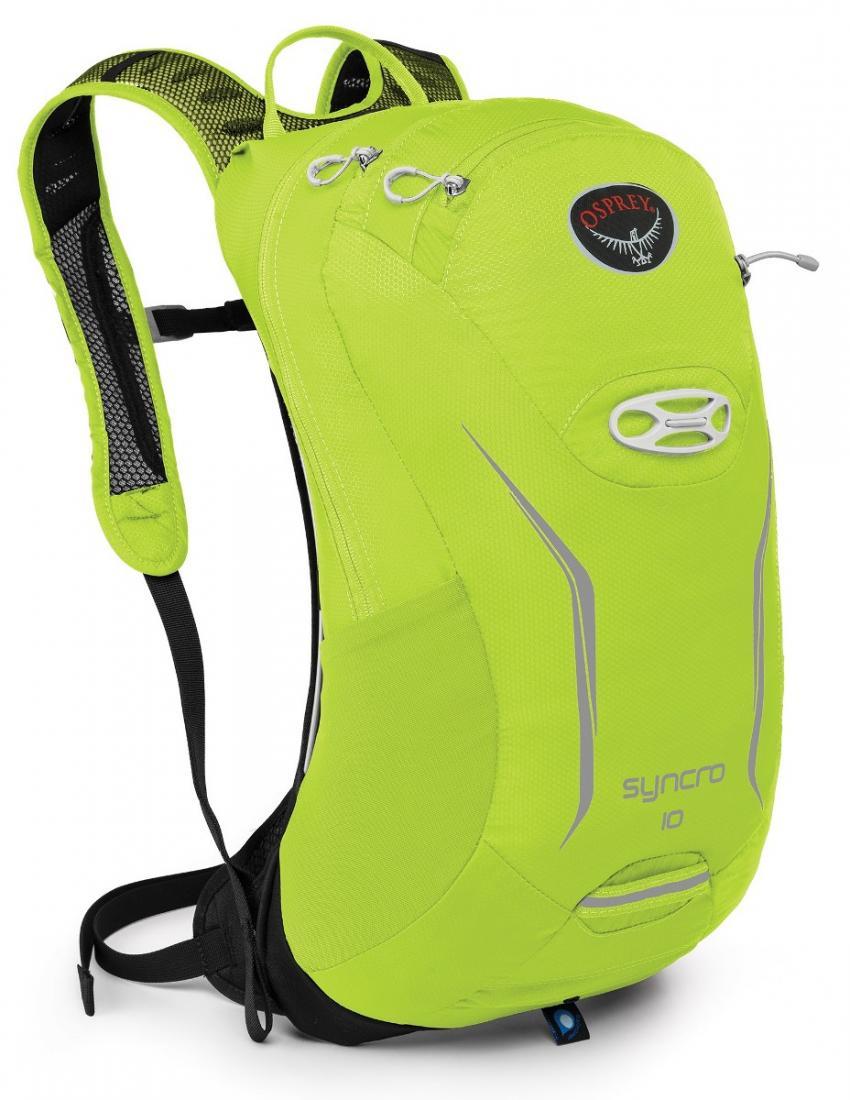 Рюкзак Syncro 10Рюкзаки<br>Хотите приехать в место назначения, сохранив комфорт, спокойствие и собранность? Рюкзаки серии Syncro стали еще компактнее и легче. Обеспечи...<br><br>Цвет: Зеленый<br>Размер: 10 л