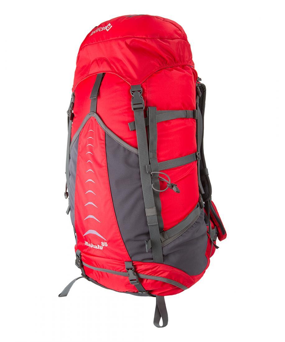 Рюкзак Makalu 85 V4Туристические, треккинговые<br>Рюкзак Makalu 85 V4 – классический рюкзак для горных походов.<br><br>подвесная система IBC<br>съемный поясной ремень анатомической формы<br>...<br><br>Цвет: Красный<br>Размер: None