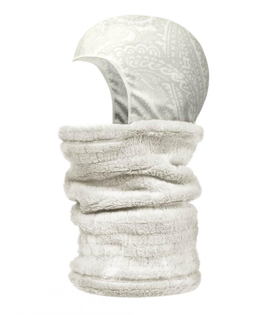Шарф NECKWARMER Head-LinerШарфы<br><br> NECKWARMER Head-Liner – универсальный аксессуар, предназначенный для защиты головы, шеи, нижней части лица от холода, осадков и порывов ветра. По желанию пользователя модель легко трансформируется в бандану, шапку-бини, маску для лица или шарф-хому...<br><br>Цвет: Белый<br>Размер: 53-62