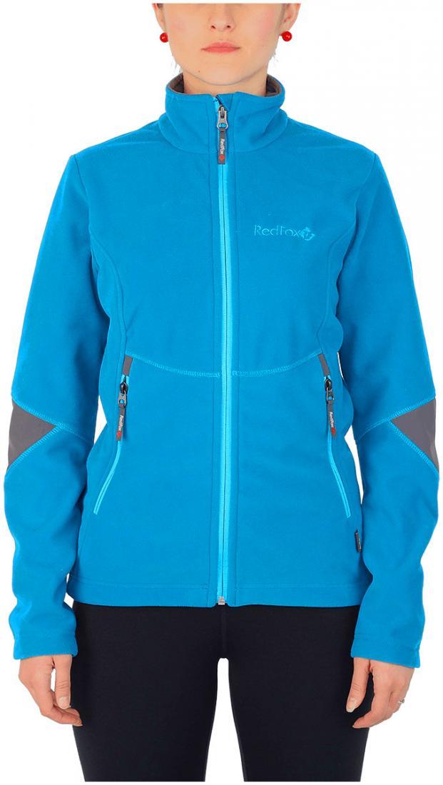 Куртка Defender III ЖенскаяКуртки<br><br> Стильная и надежна куртка для защиты от холода и ветра при занятиях спортом, активном отдыхе и любых видах путешествий. Обеспечивает свободу движений, тепло и комфорт, может использоваться в качестве наружного слоя в холодную и ветреную погоду.<br>&lt;/...<br><br>Цвет: Голубой<br>Размер: 50