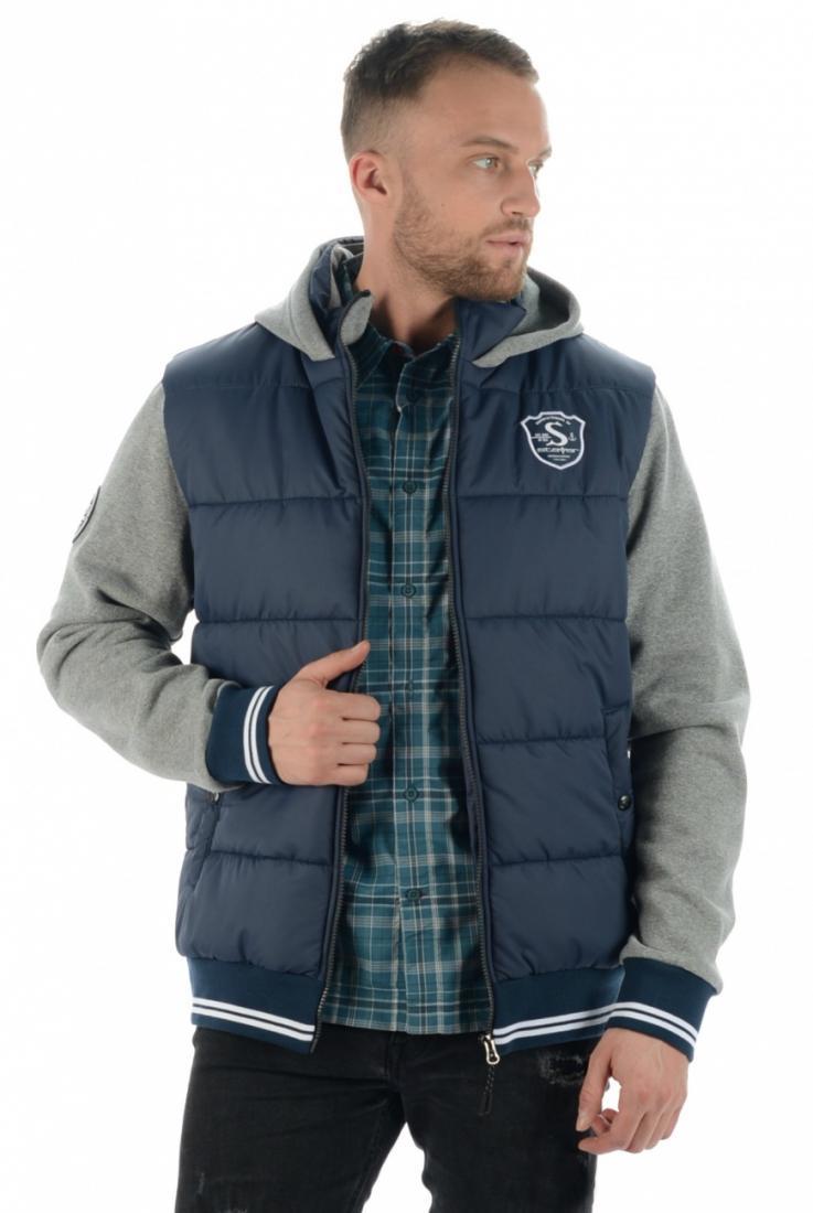 Куртка 17-42406 муж.Куртки<br><br><br>Цвет: Темно-синий<br>Размер: 56