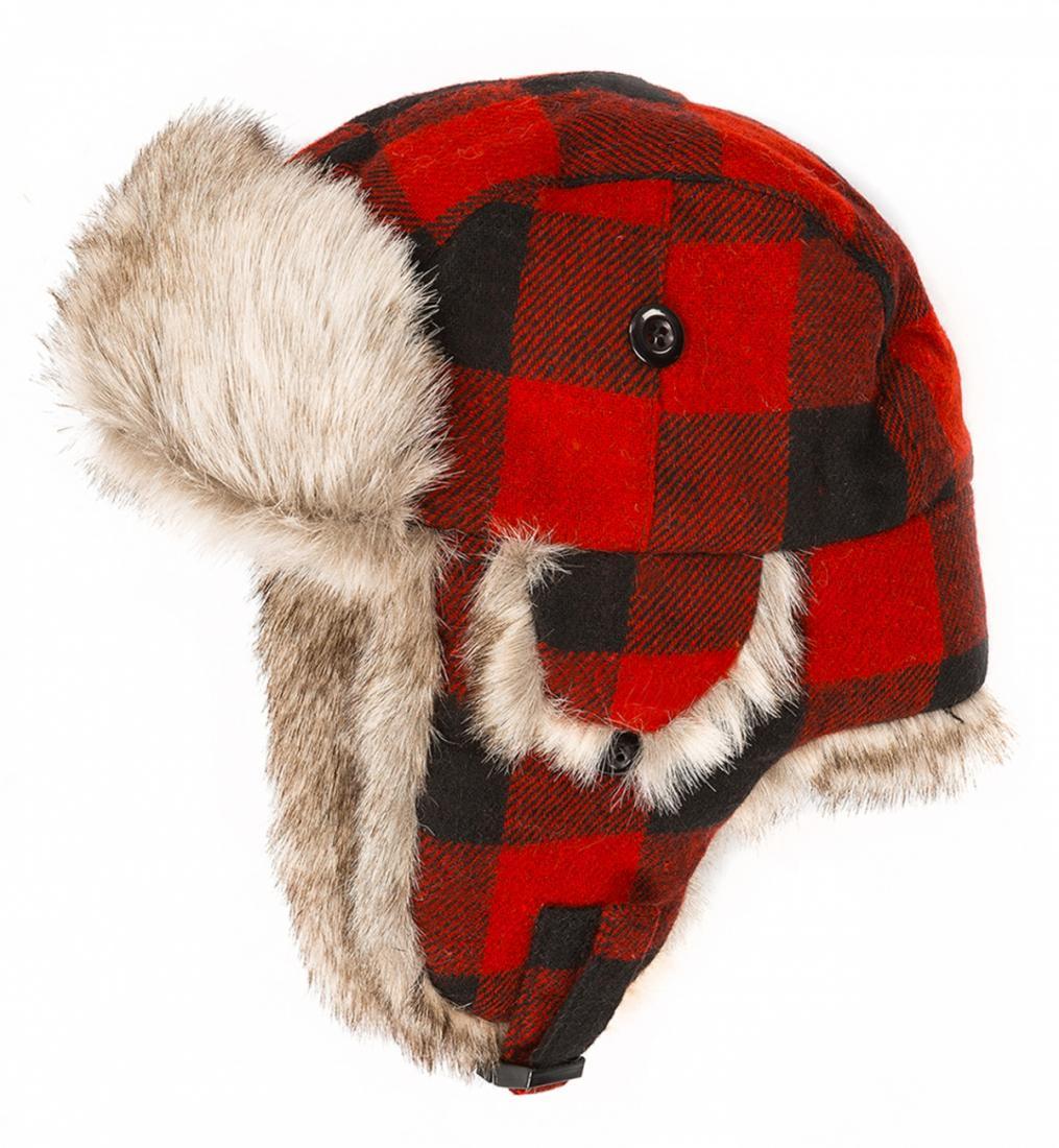 Шапка-ушанка Helmet ДетскаяУшанки<br>Теплая и уютная вязанная шапочка с ушками. Подкладка из искусственного меха исключительно сохраняет тепло и защищает от переохлаждения....<br><br>Цвет: Красный<br>Размер: 48-50