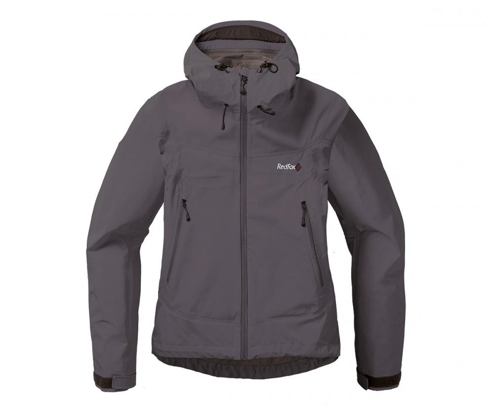 Куртка ветрозащитная VinsonКуртки<br><br> Классическая трехслойная штормовая куртка, выполненна из очень прочного материала с высокой сопротивляемостью к абразивному износу.<br>...<br><br>Цвет: Темно-серый<br>Размер: 42