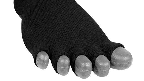 Носки Lizard  X-TOES YOGAНоски<br><br> Носки X-TOЕS позволт ступне и каждому пальцу свободно двигатьс, улучшат биохимический ритм, увеличиват ффективность работы задействованных мышц.<br><br><br> Ступн – то чудо биохимии, и только когда все части ступни работат свободно и нез...<br><br>Цвет: Черный<br>Размер: L