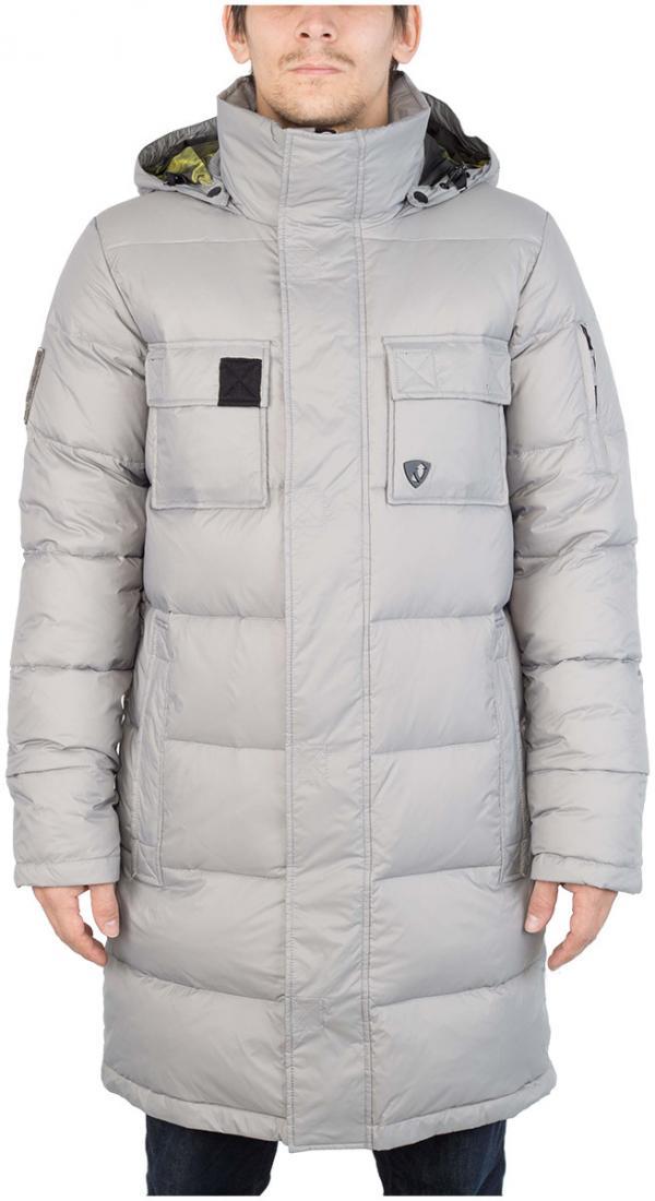 Куртка пуховая EnvelopeКуртки<br><br> Самый длинный мужской пуховик в коллекции ViRUS. Классическая прострочка, два накладных кармана на груди и масса комфорта. Все это о пуховой куртке Envelope, которая сможет противостоять как пронизывающему ветру, так и низким температурам.<br><br>&lt;...<br><br>Цвет: Серый<br>Размер: 52