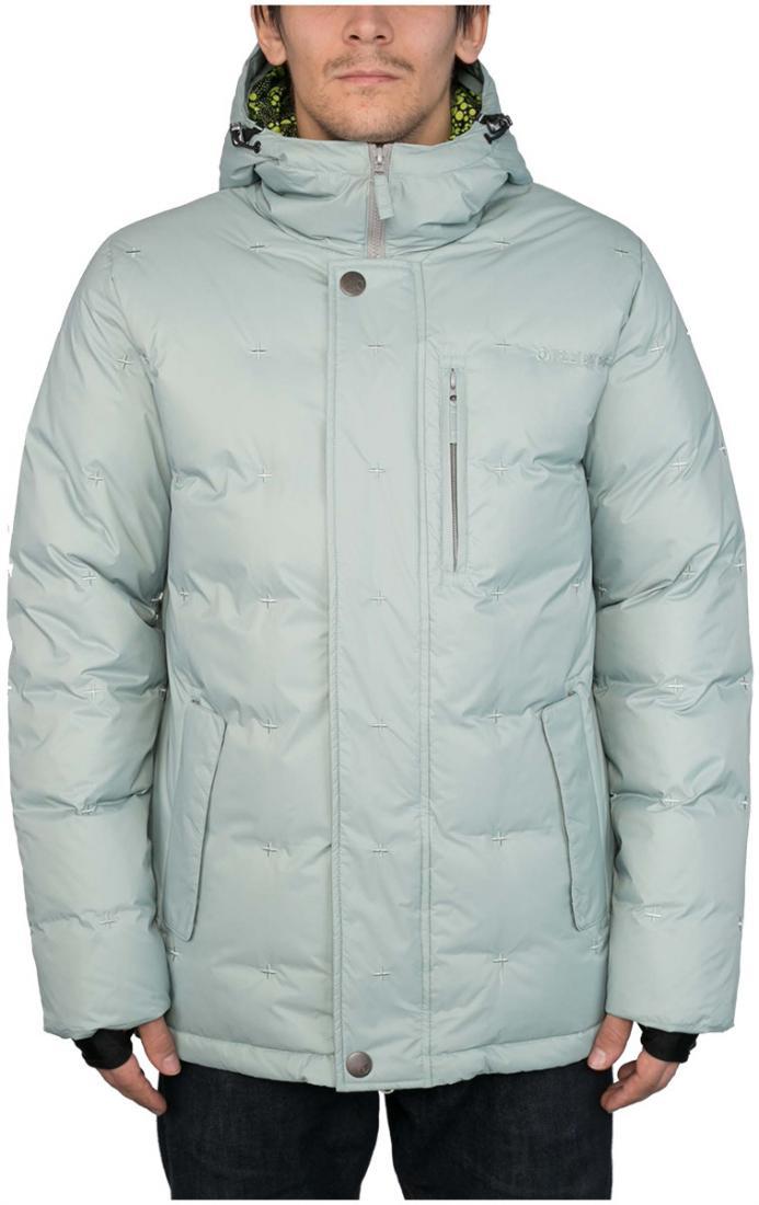 Куртка пуховая GrizzlyКуртки<br><br><br>Цвет: Темно-серый<br>Размер: 52