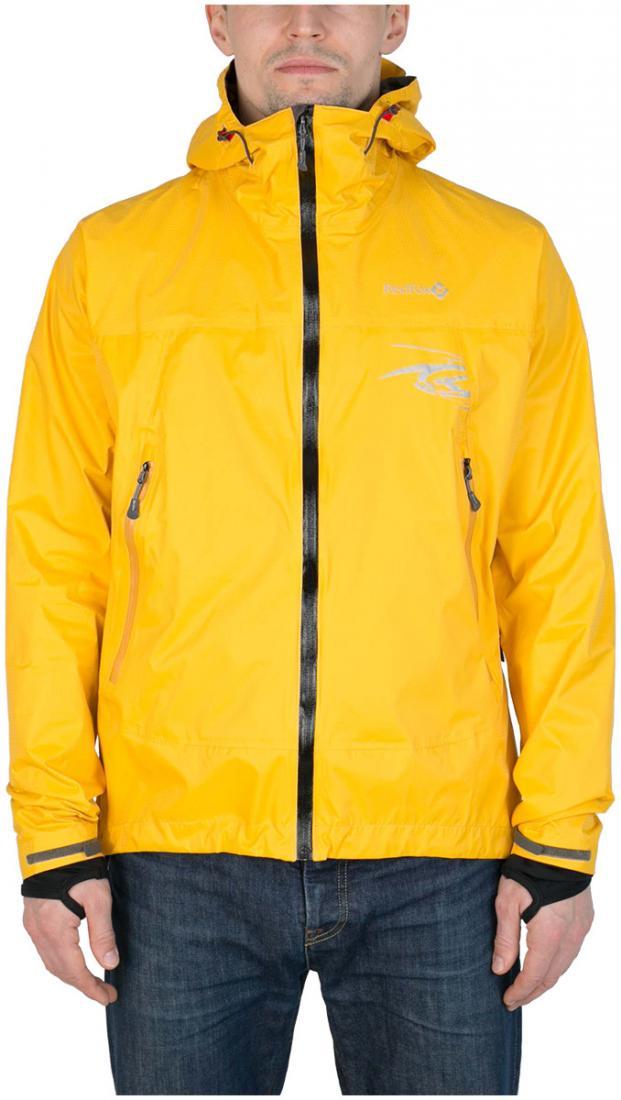 Куртка ветрозащитная Trek IIКуртки<br><br><br> Легкая влаго-ветрозащитная куртка для использованияв ветреную или...<br><br>Цвет: Янтарный<br>Размер: 42