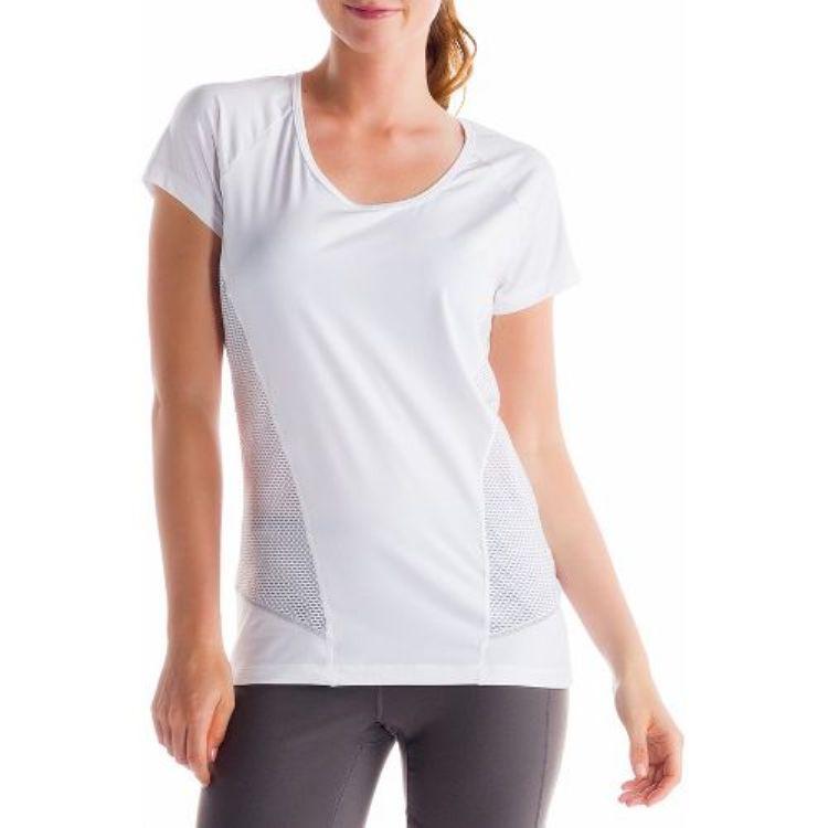 Топ LSW0920 MARATHON TOPФутболки, поло<br><br> Женская футболка Marathon Top LSW0920 от бренда Lole оснащена эластичными сетчатыми вставками по бокам и на спине, которые обеспечивают необходим...<br><br>Цвет: Белый<br>Размер: L