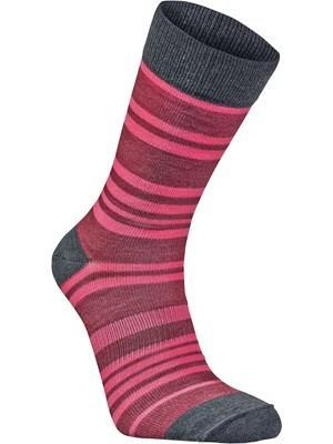 Носки StripeНоски<br><br>Состав: 51% шерсть мериноса, 48% полиамид, 1% Lycra®<br>Размерный ряд: 34-36, 37-39, 40-42, 43-45, 46-48<br><br><br>Цвет: Розовый<br>Размер: 37-39